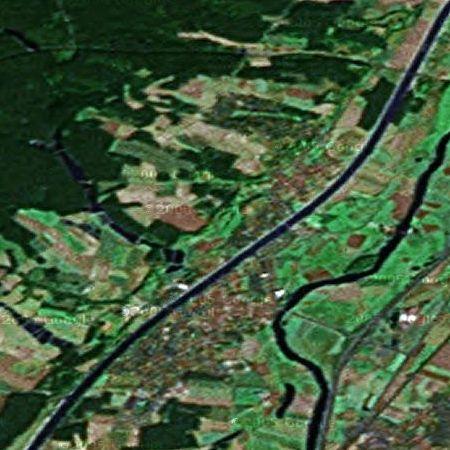 Möhrendorf von oben