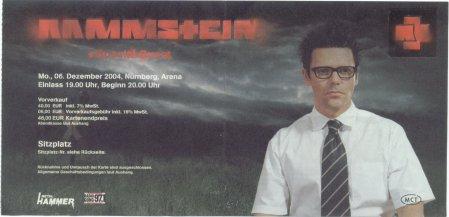 Eintrittskarte
