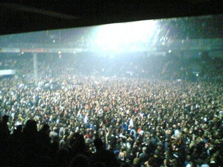 Die Arena ist voll