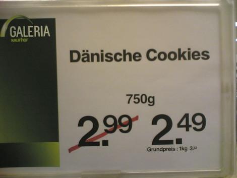 Dänische Cookies