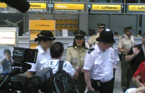 Englische Polizisten