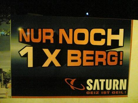 Saturn Werbung