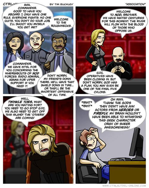 Comic Ctrl+Alt+Del