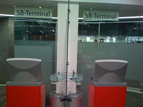 überweisung am sb terminal sparkasse