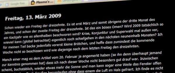 plasma_bloggt_wieder
