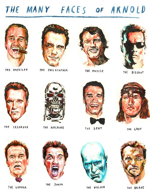 Arnold Faces