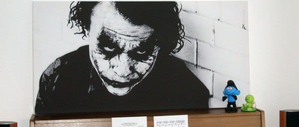 Heath Ledger Leinwand