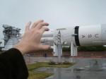 Saturn V im Raketengarten