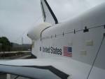 Space Shuttle Explorer von außen